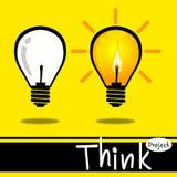 Progettazione Think6 Immagine Stock Libera da Diritti