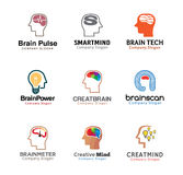 Progettazione umana di mente capa Fotografie Stock
