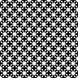 Progettazioni bianche nere di ripetizione di vettore Fotografia Stock Libera da Diritti