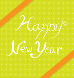 Progettazioni del fondo del nuovo anno Fotografia Stock