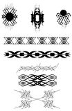 Progettazioni del tatuaggio Immagine Stock