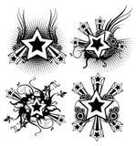 Progettazioni delle stelle Fotografia Stock