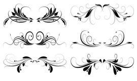 Progettazioni floreali royalty illustrazione gratis