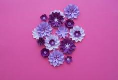 Progettazioni floreali della natura della pianta del fiore Immagine Stock