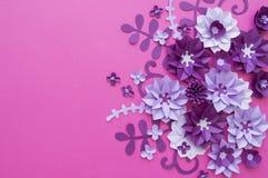 Progettazioni floreali della natura della pianta del fiore Fotografia Stock Libera da Diritti
