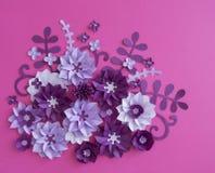 Progettazioni floreali della natura della pianta del fiore Fotografia Stock
