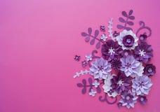 Progettazioni floreali della natura della pianta del fiore Fotografie Stock