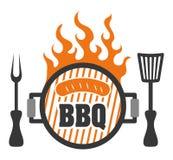 Progettazioni fresche e deliziose del bbq delle salsiccie Fotografia Stock