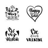 Progetti l'iscrizione con una citazione circa amore per il giorno del biglietto di S. Valentino s Giovane arte di modo della cult illustrazione di stock