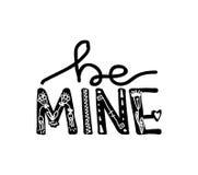 Progetti l'iscrizione con una citazione circa amore per il giorno del biglietto di S. Valentino s Giovane arte di modo della cult royalty illustrazione gratis