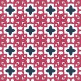 Progetti per la stampa sul tessuto, il tessuto, la carta, involucro, scrapbooking Ornamento tradizionale retro, stile d'annata de illustrazione di stock