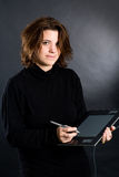 Progettista femminile Fotografie Stock