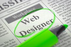 Progettista ora di noleggio di web 3d Immagine Stock Libera da Diritti
