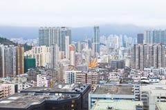 Progetto abitativo di Hong Kong Fotografia Stock Libera da Diritti