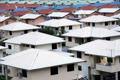 Progetto abitativo residenziale Fotografie Stock Libere da Diritti
