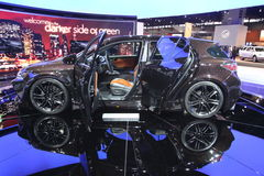 Progetto CT di asse di Lexus cinque Fotografie Stock