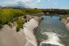 Progetto dei fiumi di Menashe Fotografia Stock Libera da Diritti