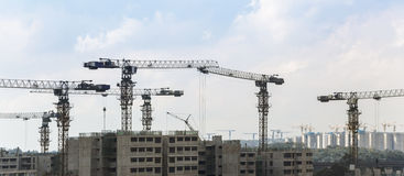 Progetto di costruzione Immagine Stock