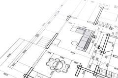 Progetto interno domestico Fotografie Stock