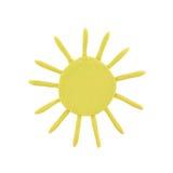 prognozy plasteliny pogoda Fotografia Royalty Free