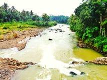 Progo河magelang 库存图片