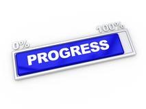 progrès de bar Photo stock