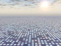 Progrès de réseau à la lumière illustration de vecteur