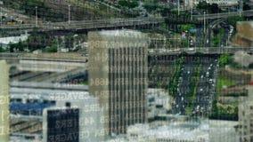 Programów kody i miasto zdjęcie wideo