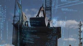 Programów kody i podnośna maszyna zbiory wideo