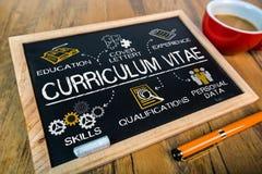 Program Nauczania - vitae pojęcie zdjęcia royalty free
