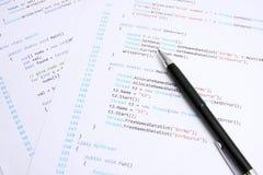 Programação Imagens de Stock