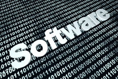 Programação de software de Digitas Foto de Stock
