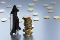 Programa aeroespacial foto de stock royalty free