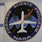 Programa aerotransportado de la ciencia de la NASA fotografía de archivo