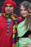 Programa cultural bengali!! Fotos de Stock