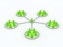 Programa da filial. Rede. Imagem de Stock Royalty Free