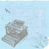 Programa de escritura del libro en rústica Fotos de archivo libres de regalías