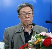 Programa de escritura famoso Wang Meng Fotos de archivo