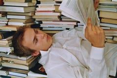 Programa de lectura 10 Imagenes de archivo