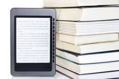 Programa de lectura de Ebook Imagen de archivo libre de regalías