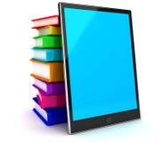 Programa de lectura del E-Libro Foto de archivo libre de regalías