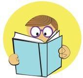Programa de lectura joven ilustración del vector