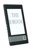 Programa de lectura moderno del ebook imagen de archivo libre de regalías
