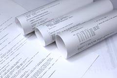 Programa de software, tecnologia, software de computador Fotografia de Stock