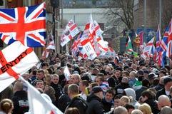 Programa demonstrativo de EDL em Blackburn Fotografia de Stock Royalty Free