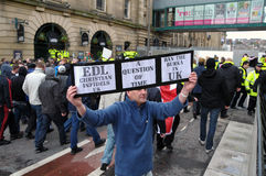 Programa demonstrativo de EDL em Blackburn Foto de Stock Royalty Free
