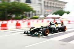 Programa demonstrativo grande da raça de Malaysia F1 Prix 2011 Foto de Stock