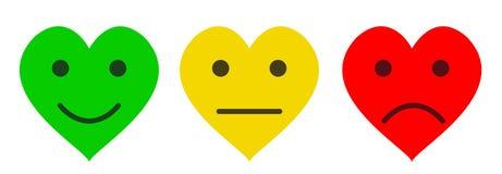 Programa do coração Imagem de Stock