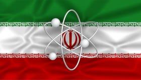 Programa nuclear iraní Imágenes de archivo libres de regalías