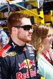 Programa piloto Brian Vickers de NASCAR Fotos de archivo libres de regalías